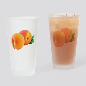 Digital peaches Drinking Glass