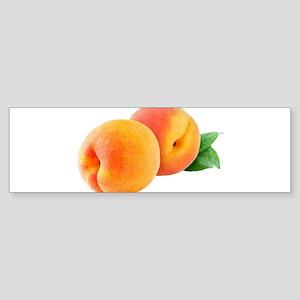 Digital peaches Bumper Sticker
