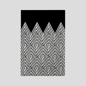 Zigzag Tribal pattern Magnets