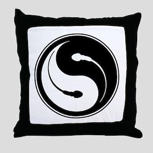 Fertilty Balance Throw Pillow