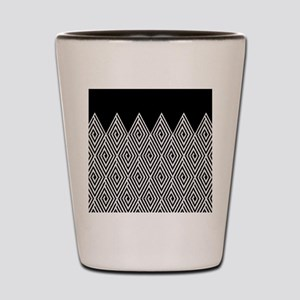 Zigzag Tribal pattern Shot Glass