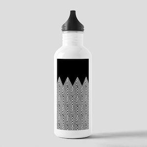 Zigzag Tribal pattern Water Bottle