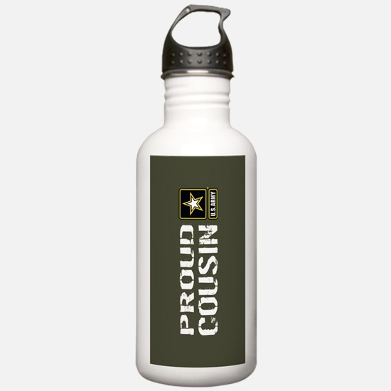 U.S. Army: Proud Cousi Water Bottle