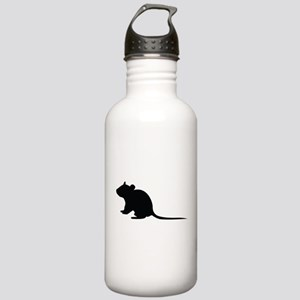 Rat silhouette Stainless Water Bottle 1.0L