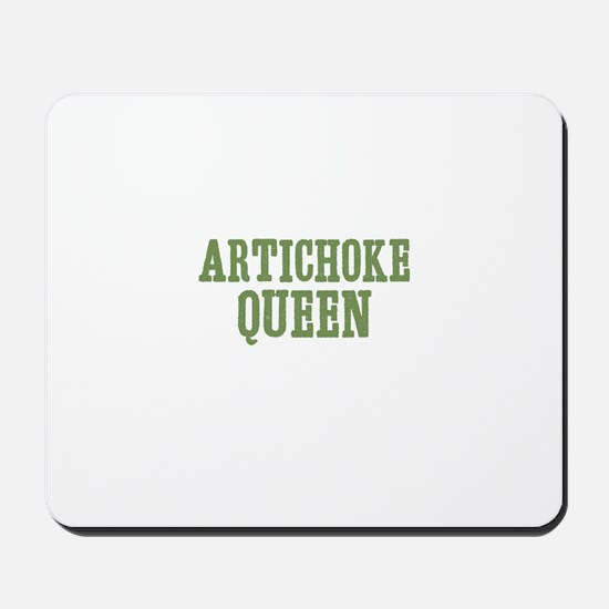 Artichoke Queen Mousepad