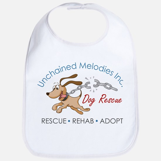 Unchained Melodies Dog Rescue Logo Hi-Res Bib