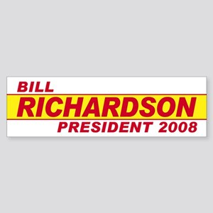 BILL RICHARDSON PRESIDENT 200 Bumper Sticker