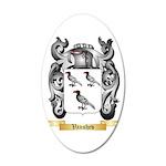 Vanshev 20x12 Oval Wall Decal