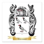Vannucci Square Car Magnet 3