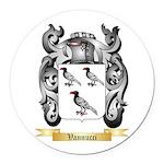 Vannucci Round Car Magnet