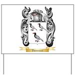 Vannucci Yard Sign
