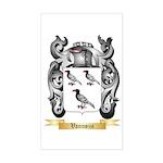 Vannozzi Sticker (Rectangle)