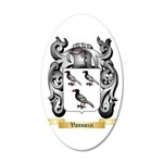 Vannozzi 20x12 Oval Wall Decal