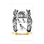 Vannini Sticker (Rectangle 50 pk)