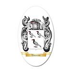 Vannini 20x12 Oval Wall Decal