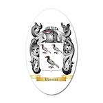 Vannini 35x21 Oval Wall Decal