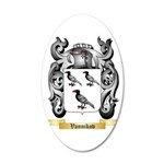 Vannikov 20x12 Oval Wall Decal
