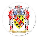 Vanner Round Car Magnet
