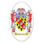 Vanner Sticker (Oval 50 pk)
