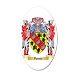 Vanner 20x12 Oval Wall Decal