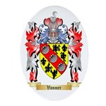 Vanner Oval Ornament