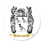 Vannelli Round Car Magnet