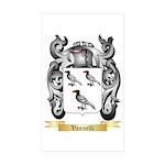 Vannelli Sticker (Rectangle 10 pk)