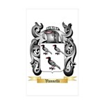 Vannelli Sticker (Rectangle 50 pk)