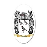 Vannelli 20x12 Oval Wall Decal