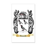 Vannelli 35x21 Wall Decal