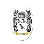 Vankov 20x12 Oval Wall Decal