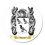 Vanini Round Car Magnet