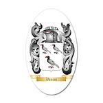 Vanini 35x21 Oval Wall Decal