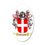Vaneveld 35x21 Oval Wall Decal