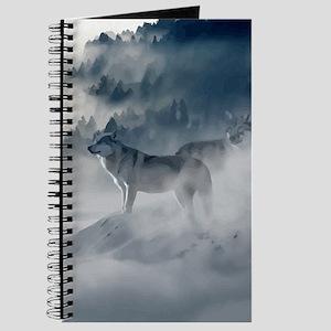 Wolf Animal Wildlife Art Journal