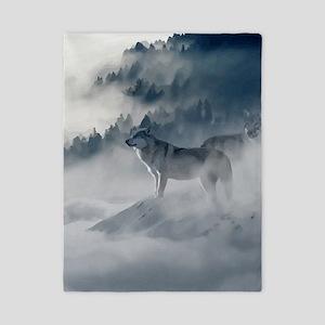Wolf Animal Wildlife Art Twin Duvet