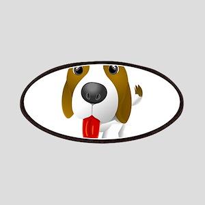 cartoon dog showing tongue Patch