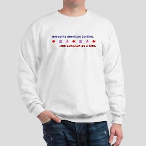 """US-CA Curling"" Sweatshirt"