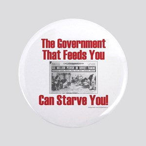 """Gov't. Feed 3.5"""" Button"""