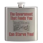 Gov't. Feed Flask