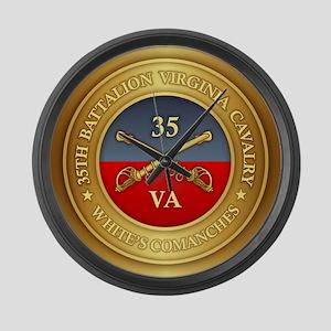 35th Virginia Large Wall Clock