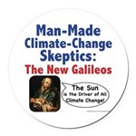 New Galileos Round Car Magnet