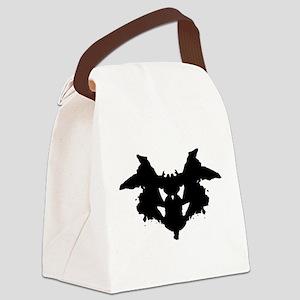 Rorschach Inkblot Canvas Lunch Bag