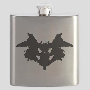 Rorschach Inkblot Flask