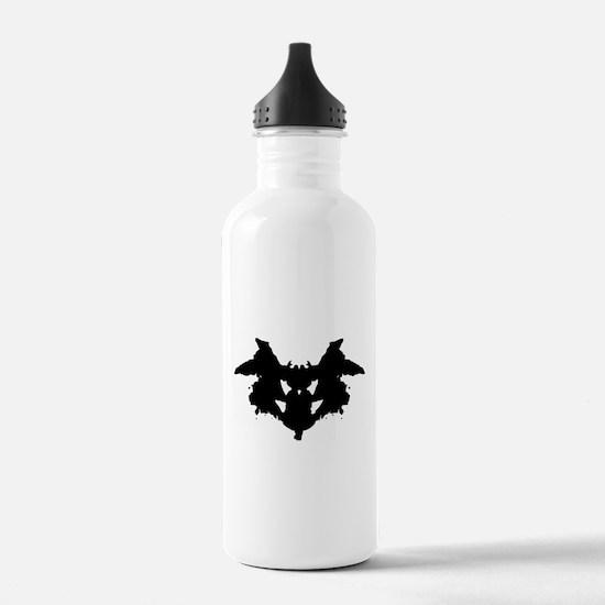 Rorschach Inkblot Sports Water Bottle