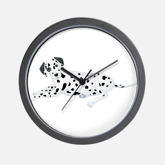 Sitting Dalmatian Wall Clock