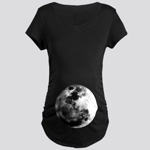 Full Moon Maternity Dark T-Shirt