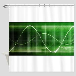 Creative Chart Lin Shower Curtain