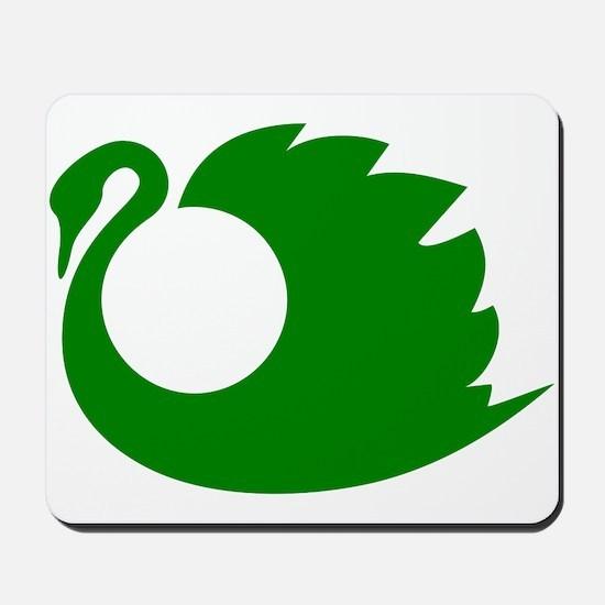 Swan clip art Mousepad
