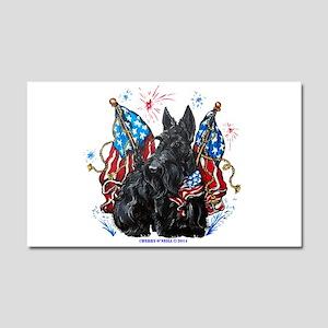 All American Scottie Car Magnet 20 x 12